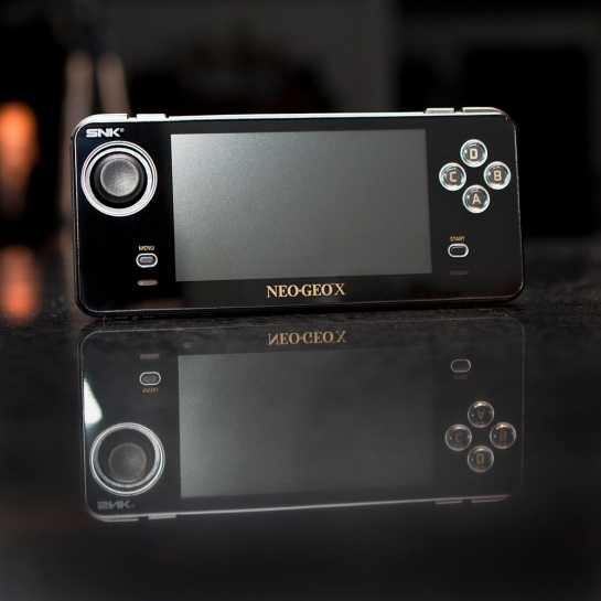 Neo Geo X Gold Limited Edition System
