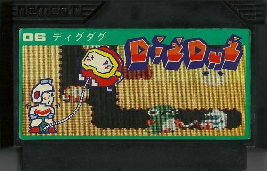 Dig Dug - Famicom