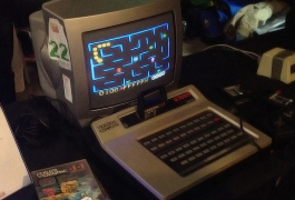 Videopac Computer displayed at Retrospelsmässan 2013