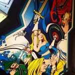 Gauntlet arcade cabinet artwork