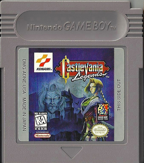 Castlevania Legends PAL