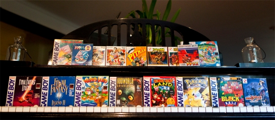 Game Boy Games boxed