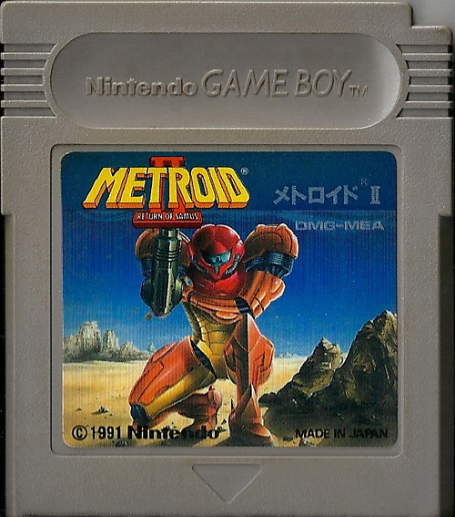 Metroid II Return of Samus JP