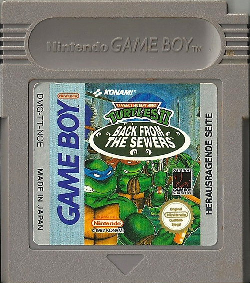 Teenage Mutant Hero Turtles II - Back from the Sewers