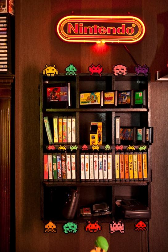 Konami shelf