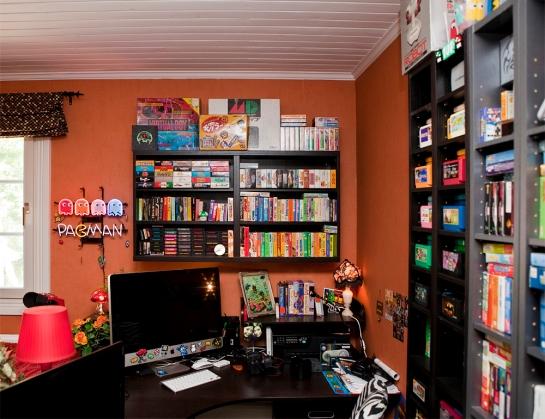 My retro room - desk