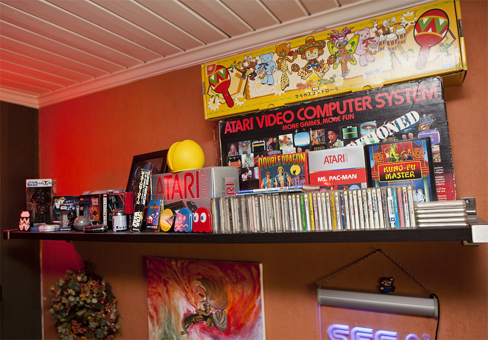 Game Collection My Retro Room Re Visited Retro Video Gaming
