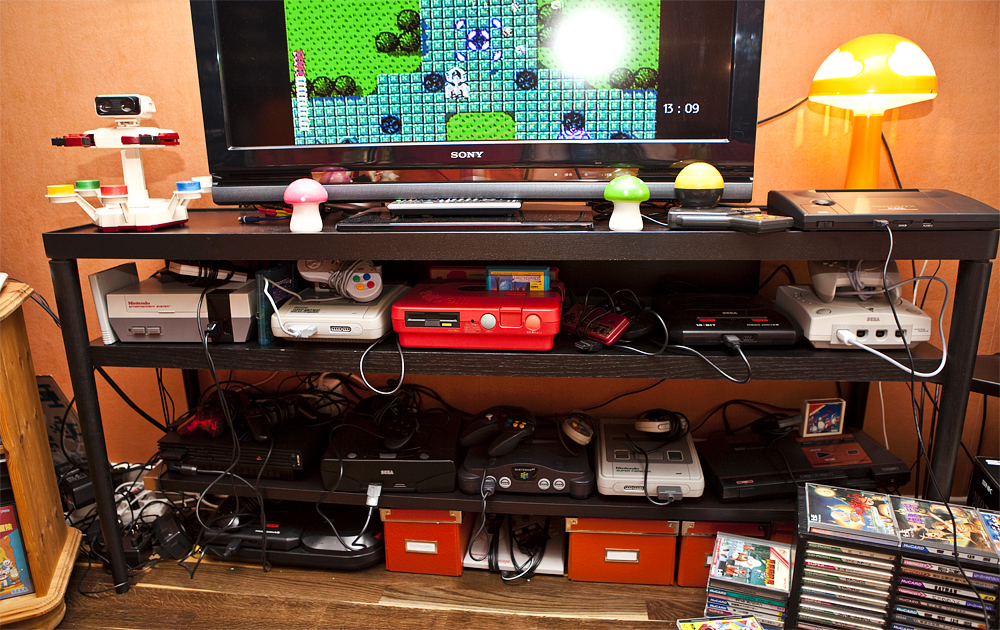game collection my retro room re visited retro video gaming. Black Bedroom Furniture Sets. Home Design Ideas