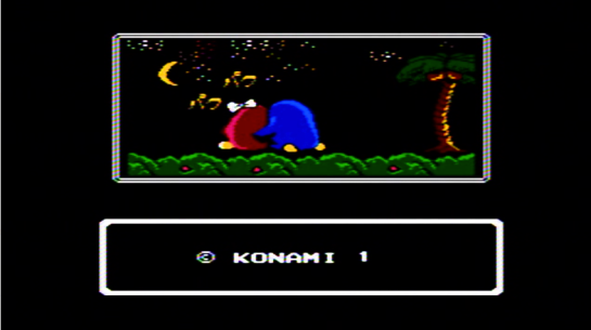 Famicom - Yume Penguin Monogatari - screenshot final couple
