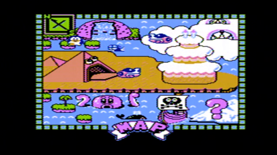 Famicom - Yume Penguin Monogatari - screenshot map