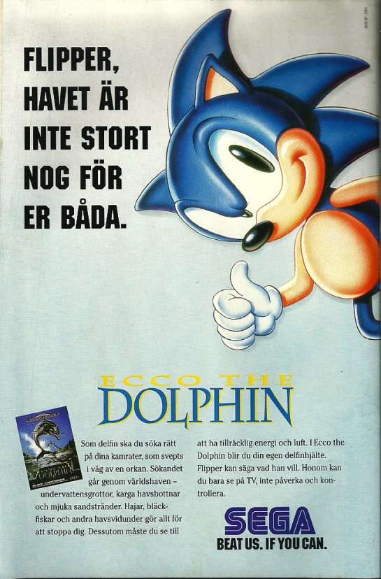 """""""Flipper, the ocean is not big enough for both of you"""".. yeah... cause Flipper the dolphin was a big thing back then too ^^"""