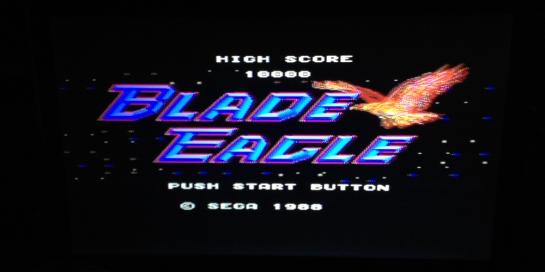 Blade Eagle Sega Master System
