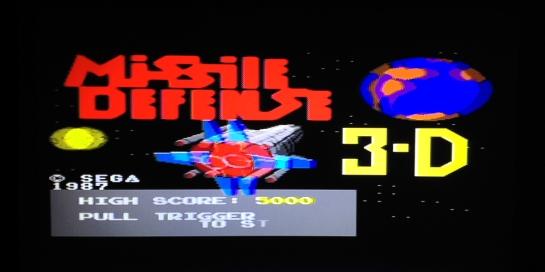 Missile Defense 3-D Sega Master System