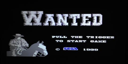 Wanted Sega Master System