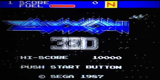Zaxxon 3-D Sega Master System