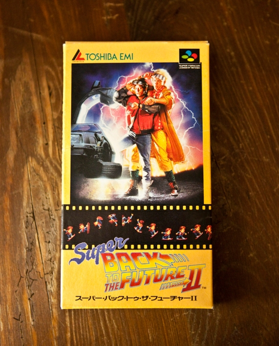 Super Back to the Future II boxed