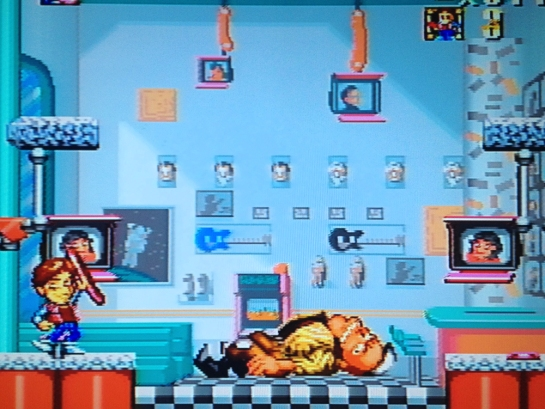 Super Back to the Future Part 2 screenshot boss 1 defeated
