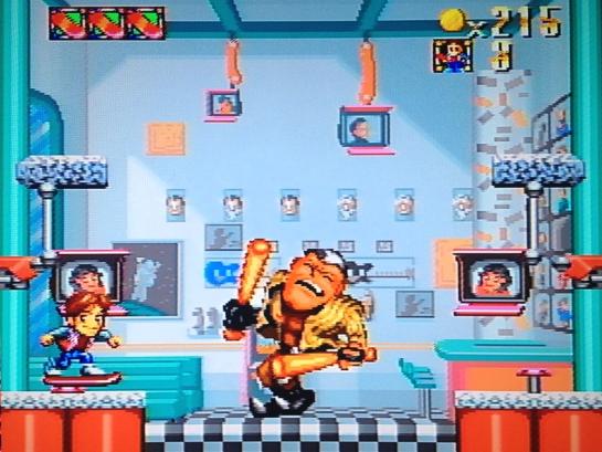 Super Back to the Future Part 2 screenshot boss 1