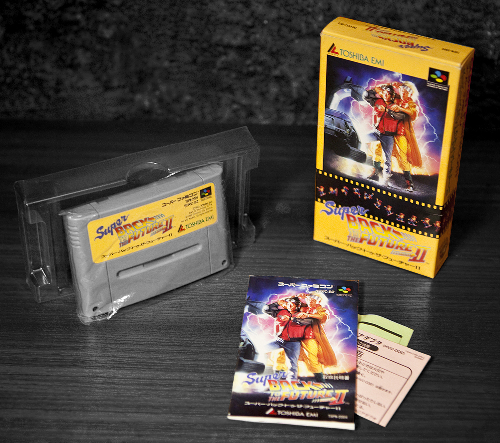 Super back to the future part ii retro video gaming