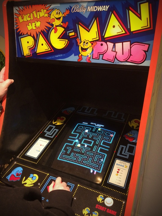 Pacman plus arcade