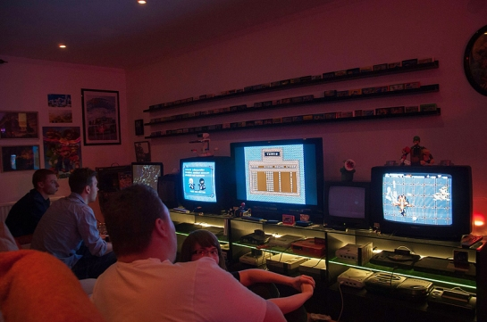 Gaming at Retro Rumble © Jens Andreasson