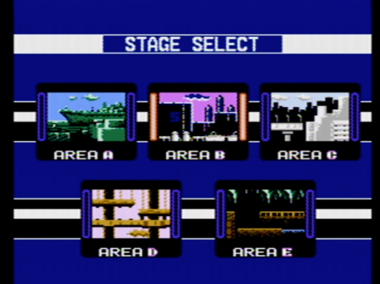 Choujin Sentai Jetman - select stage