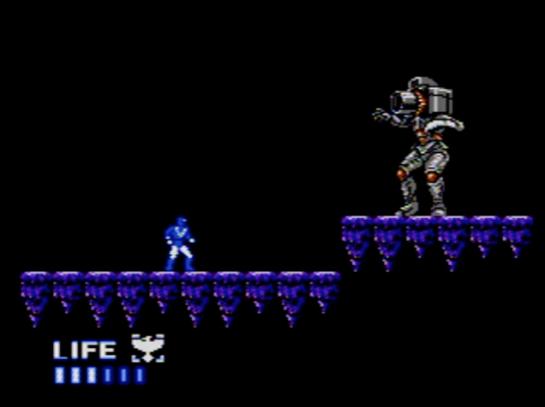 Choujin Sentai Jetman - stage 2 boss