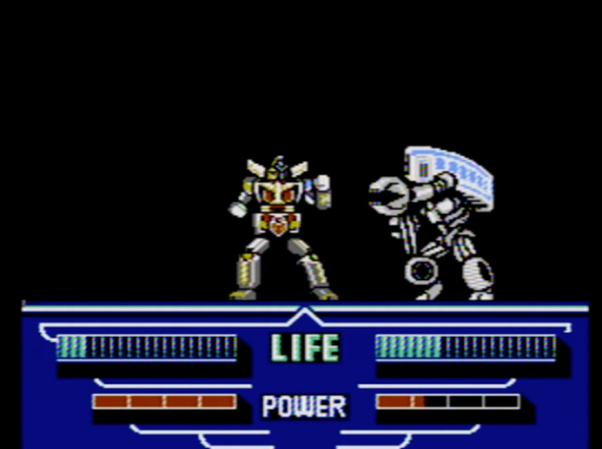 Choujin Sentai Jetman - stage 4 boss