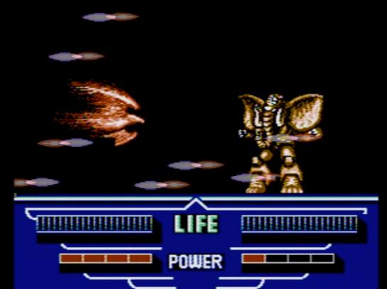 Choujin Sentai Jetman - stage 6 boss