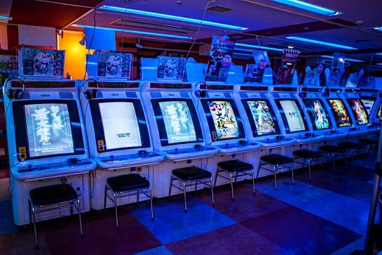Akihabara - arcade shooters