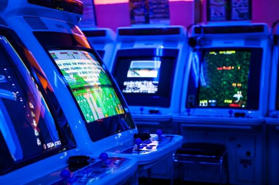 Akihabara - arcades more shooters