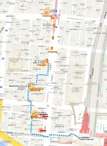 akihabara map of retro game shops