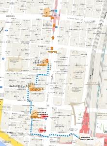 akihabara map of retro game shops