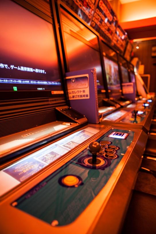 Akihabara - sega arcades 7