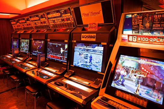 Akihabara - sega arcades street fighter