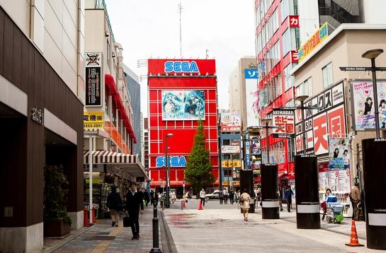 Akihabara - Sega building