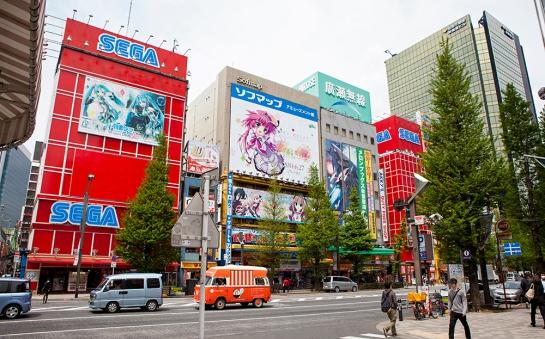 Akihabara - sega buildings