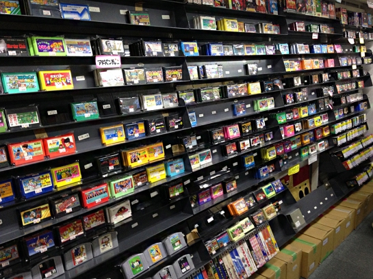 Friends game shop famicom