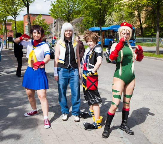 street fighter kingdom hearts cosplay