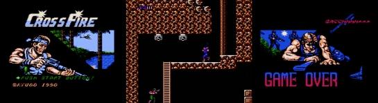 Famicom Cross Fire screenshots