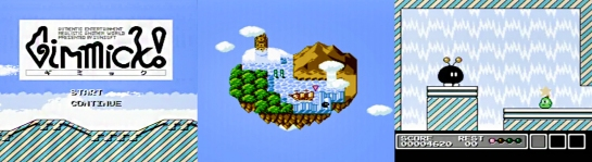 Famicom Gimmick! screenshots