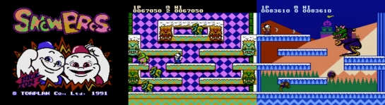Famicom Snow Bros screenshots