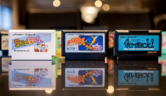 gimmick, snow bros, over horizon famicom