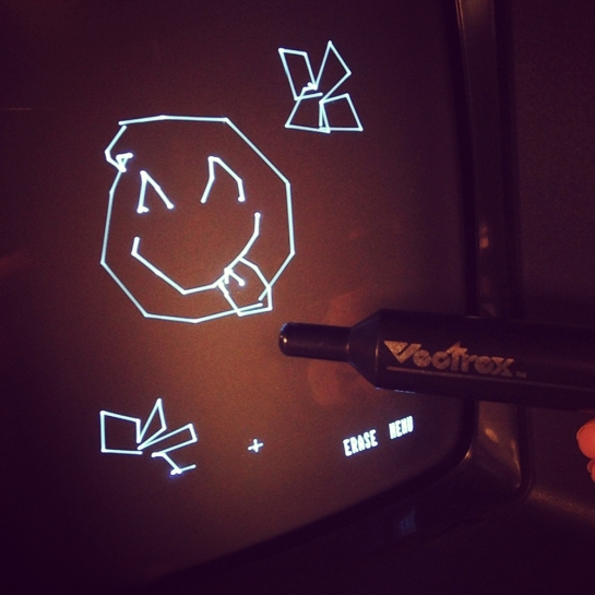 Light Pen Art Master smiley