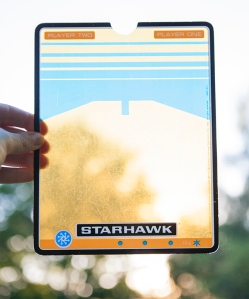 Vectrex Starhawk overlay