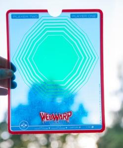 Vectrex Webwarp overlay