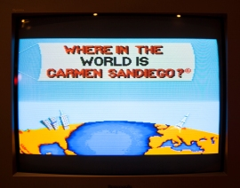Carmen Sandiego title screen