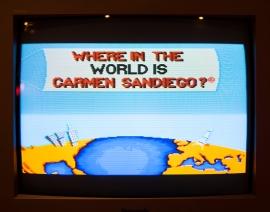 Carmen Sandiego title screen