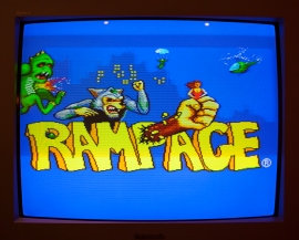 Rampage titlescreen