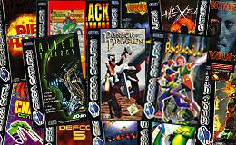 My Sega Saturn collection(PAL)